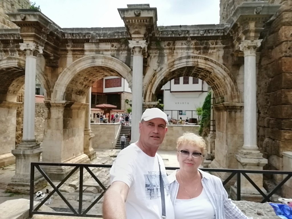 Анталия ворота Адриана