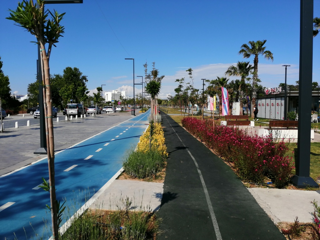 Antalya promenade